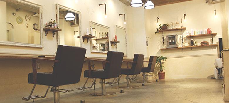 西葛西のアンティーク調な美容室 Hair アンドヘア